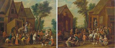 Theobald Michau (1676-1765). Flemish Painter