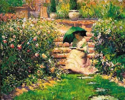 Paintings by  Richard Emil Miller, American Impressionist