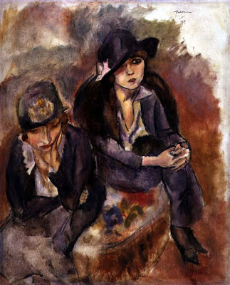 Jules Pascin. Hermine David and a Friend, 1914