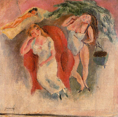 Jules Pascin. Composition with Three Women