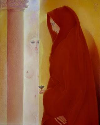 Bellor, Belgian Symbolist Painter. The Wave