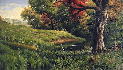 Levi Wells Prentice. An Early Autumn Landscape
