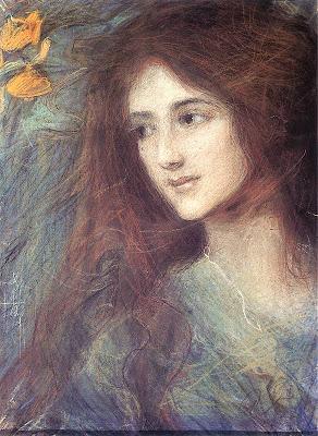 Teodor Axentowicz. Redhead, 1899