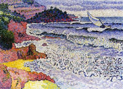 The Lapping Sea, 1903 by Henri Edmond Cross