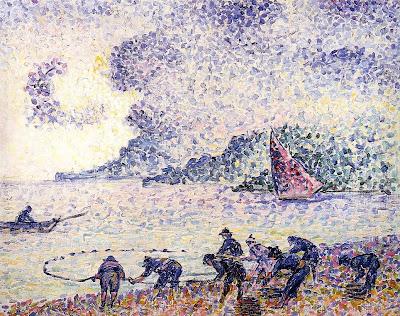 Fishermen by Henri Edmond Cross