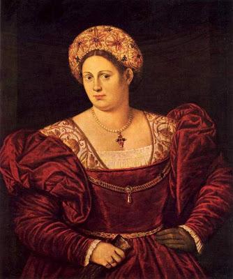 Portraits of  Women of Italian Renaissance. Bernardino Licinio