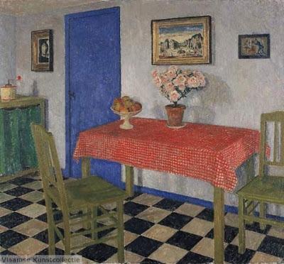 Leon De Smet. Kitchen Interior