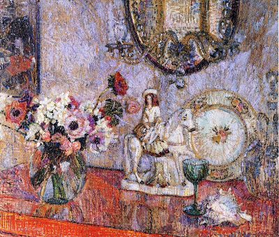 Leon De Smet. Still Life with Poppies and Staffordshire