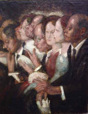 Paintings by Theodoor Verschaeren, Belgian Artist