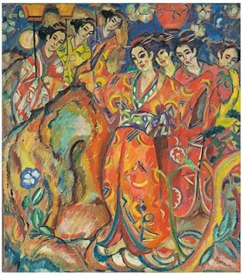 Painting by Georg Tappert. German Artist