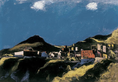 Jándi Dávid, Hungarian Artist. Italian Landscape
