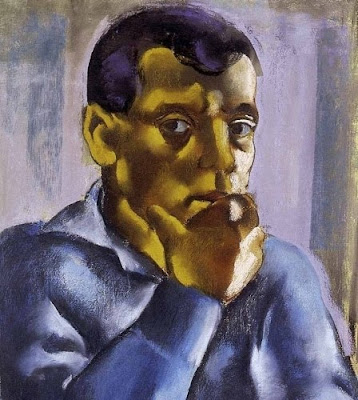 Jndi Dvid, Hungarian Artist. Self Portrait