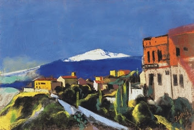 Jndi Dvid, Hungarian Artist. Taormina