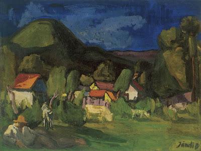 Jándi Dávid, Hungarian Artist. Nagybánya