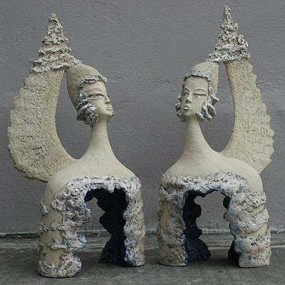 Polish Artist Barbara Cichoka's Ceramic Works