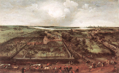 Jacob Grimmer. View of Kiel, 1578