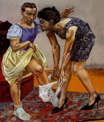 Paintings by Paula Rego. Portuguese Artist