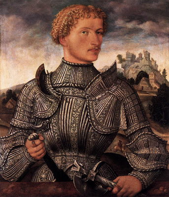 Men's Portraits of the 16th Century. A Knight of the Rehlinger Family