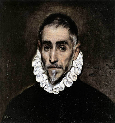 El Greco. Portrait of an Elderly Gentleman