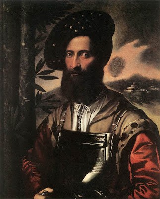 Dosso Dossi Portrait of a Warrior