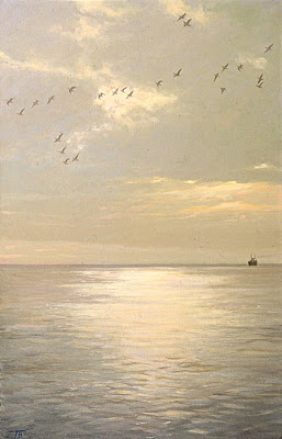Seascape Painting by Russian Artist Peter Bezrukov