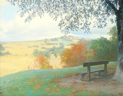 Landscape Painting by Russian Artist Peter Bezrukov