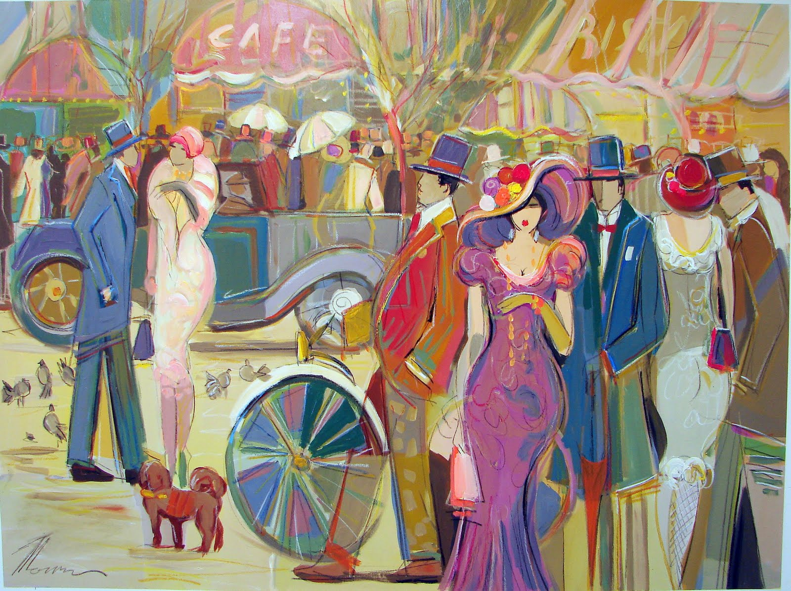 Women in painting by israeli artist isaac maimon blog of for Israeli artists oil paintings