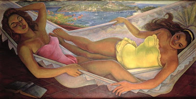 Hammock in  Painting Diego Rivera
