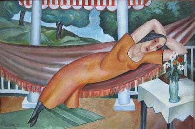 Hammock in  Painting Fred Gardner