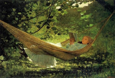 Hammock in  Painting Winslow Homer