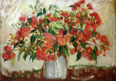 Flower Painting by Ethel Carrick Fox Australian Artist