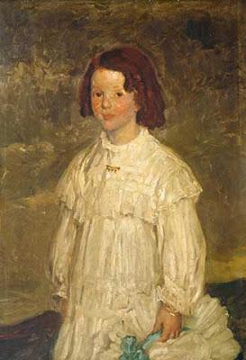 Portrait Painting by Australian Impressionist Artist Emanuel Phillips Fox