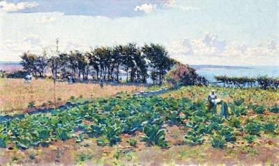 Landscape Painting by Australian Impressionist Artist Emanuel Phillips Fox