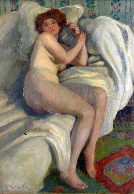 Nude Painting by Emanuel Phillips Fox Australian Impressionist Artist
