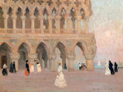 Venice in Painting by Emanuel Phillips Fox Australian Impressionist Artist