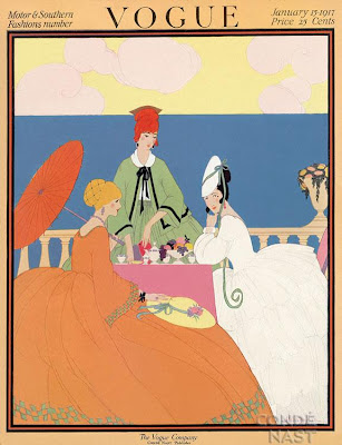 Vogue Covers by Helen Dryden Art Deco Fashion Illustrator