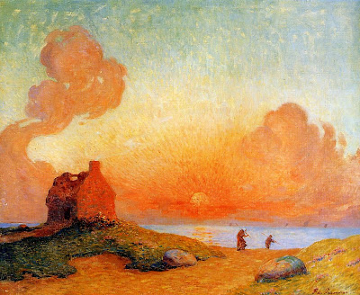 Landscape Paintings by Ferdinand du Puigaudeau French Impressionist Artist