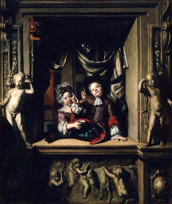 Bubble Painting in Vanitas Homo Bulla Matthijs Naiveu Dutch Baroque Era Painter