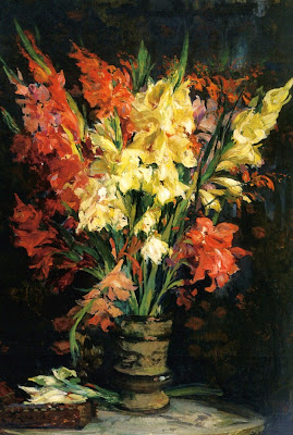 Flower Painting by French Artist Jacques Emile Blanche