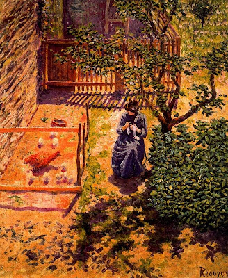 Painting by Dario de Regoyos y Valdes Spanish Artist