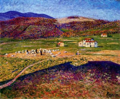 Landscapes by Dario de Regoyos y Valdes Spanish Artist