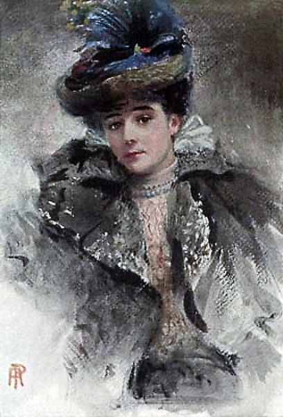 Portrait of Lady Colin Campbell by Percy Anderson (1851-1928