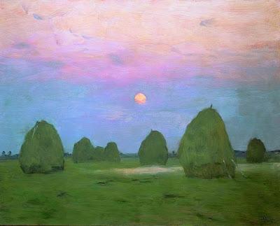 Moonlit Landscapes by Russian Painter Isaak Levitan