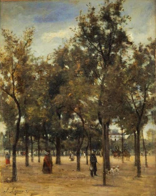 Oil Painting by French Artist Stanislas Lépine