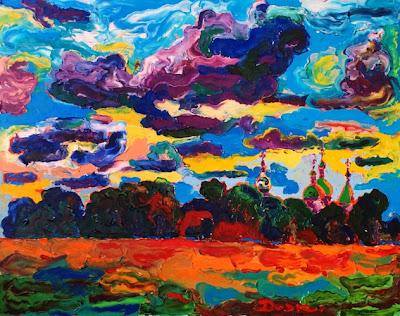Contemporary oil painitngs by Ukrainian Artist Mikhail Dejak