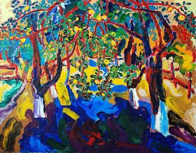 Contemporary painting by Ukrainian Artist Mikhail Dejak