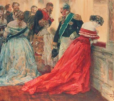 Artwork of  Adolf von Menzel German Painter