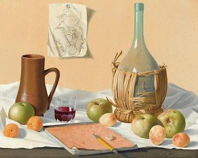Still Life Painting by Italian Artist Alfredo Serri