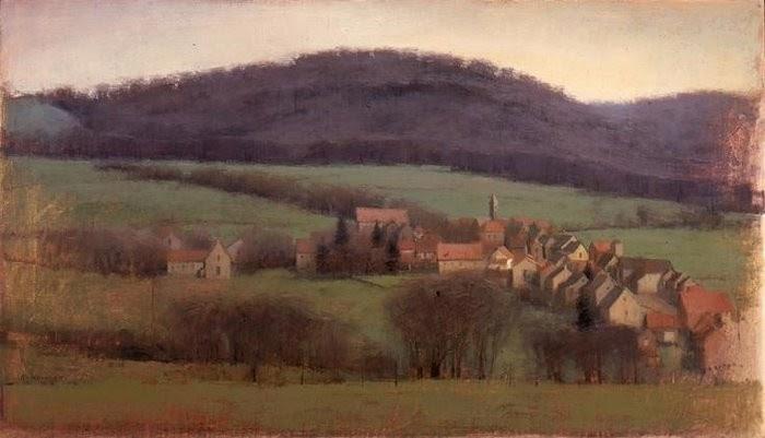 Landscape Painting By Contemporary Artist Michael Workman