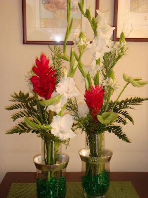Concepto floral arreglos florales para oficinas for Decoracion recepcion oficina
